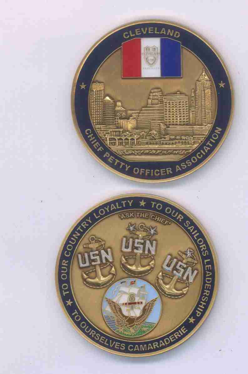 Cleveland <BR>CPOA Challenge Coin